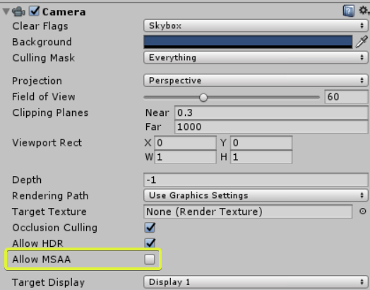 Unity Settings - Sprytile Docs